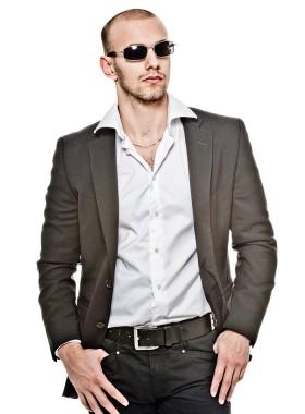 Fashionable Jacket and Shirt